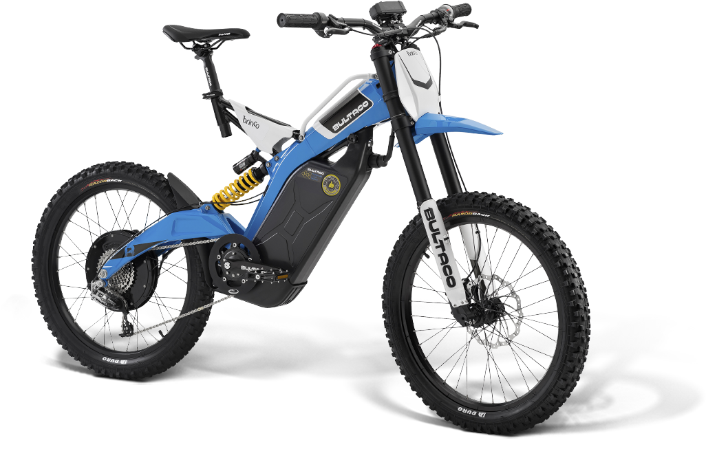 Picture of electric bicycle for off road riding.